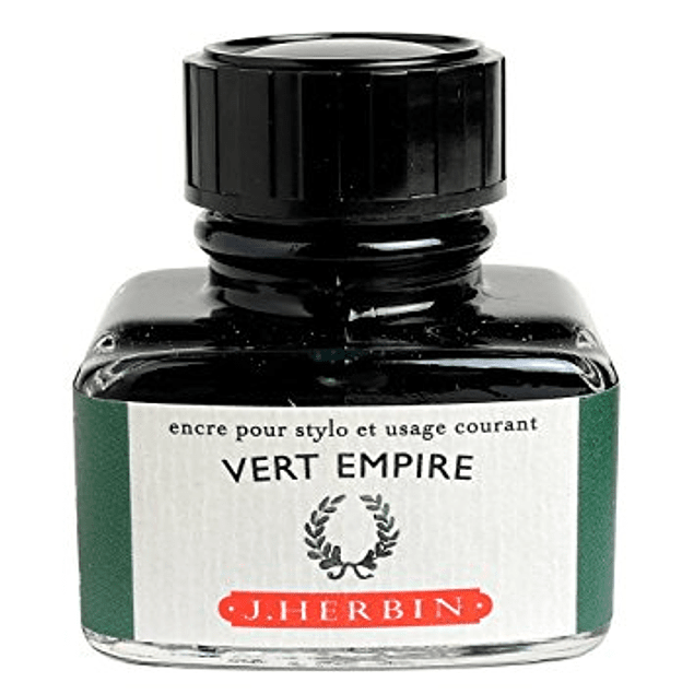 D ink bottle 30ml vert empire