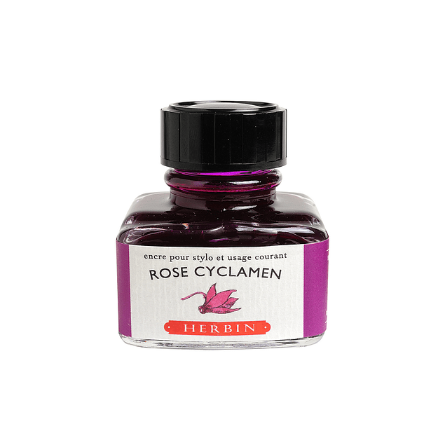 D ink bottle 30ml cyclamen pink