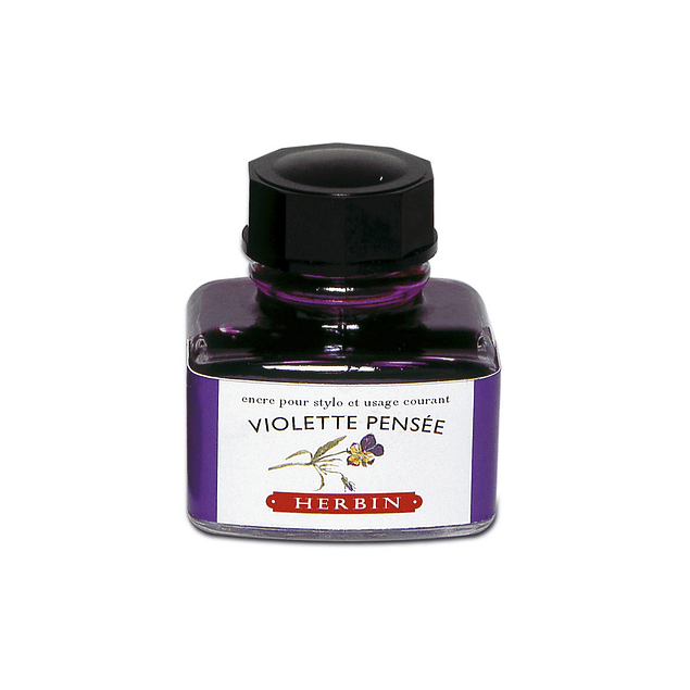 D ink bottle 30ml violet