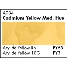 GRUMBACHER COLOR - ACADEMY WATERCOLOR CADMIUM YELLOW MEDIUM HUE