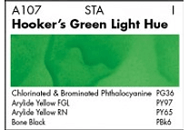 GRUMBACHER COLOR - ACADEMY WATERCOLOR HOOKERS GREEN LIGHT HUE