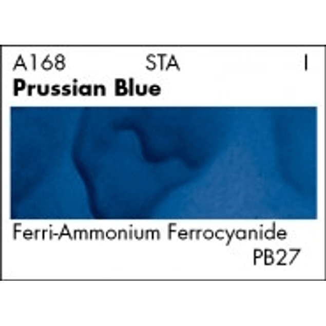 GRUMBACHER COLOR - ACADEMY WATERCOLOR PRUSSIAN BLUE