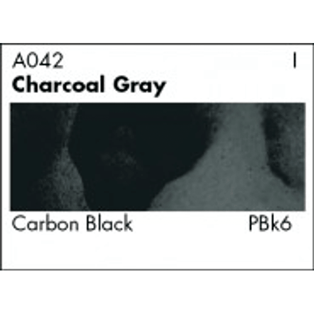 GRUMBACHER COLOR - ACADEMY WATERCOLOR CHARCOAL GRAY