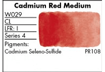 GRUMBACHER - FINESTWATERCOLOR 14 ML CADMIUM RED MEDIUM
