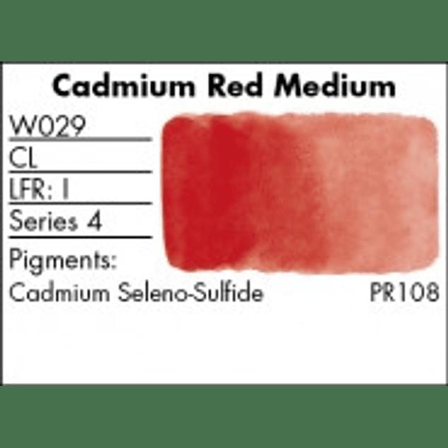 GRUMBACHER COLOR - FINESTWATERCOLOR 14 ML CADMIUM RED MEDIUM