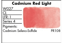 GRUMBACHER- FINESTWATERCOLOR 14 ML CADMIUM RED LIGHT