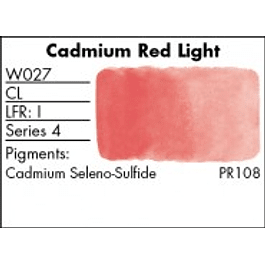 GRUMBACHER COLOR - FINESTWATERCOLOR 14 ML CADMIUM RED LIGHT