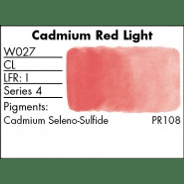 W027 - Cadmium Red Light