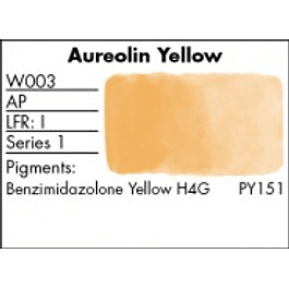 GRUMBACHER COLOR - FINESTWATERCOLOR 14 ML AUREOLIN YELLOW