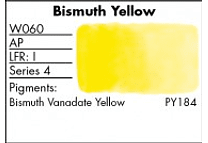 GRUMBACHER- FINESTWATERCOLOR 14 ML BISMUTH YELLOW