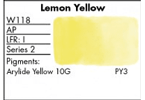 GRUMBACHER - FINESTWATERCOLOR 14 ML LEMON YELLOW