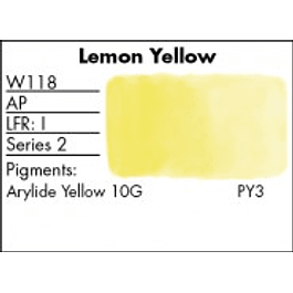 GRUMBACHER COLOR - FINESTWATERCOLOR 14 ML LEMON YELLOW