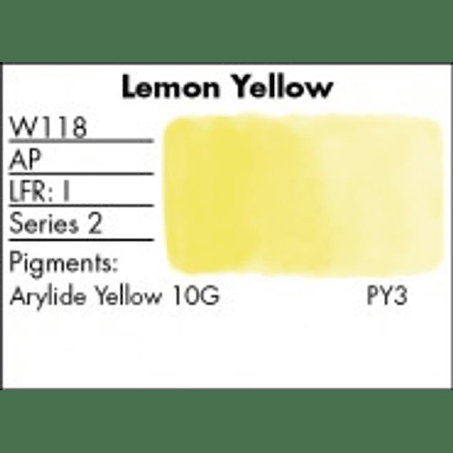 GRUMBACHER COLOR - FINESTWATERCOLOR 14 ML LEMON YELLOW