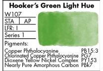 GRUMBACHER- FINESTWATERCOLOR 14 ML HOOKERS GREEN LIGHT
