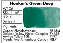 GRUMBACHER- FINESTWATERCOLOR 14 ML HOOKERS GREEN DEEP