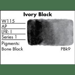 GRUMBACHER COLOR - FINESTWATERCOLOR 14 ML IVORY BLACK