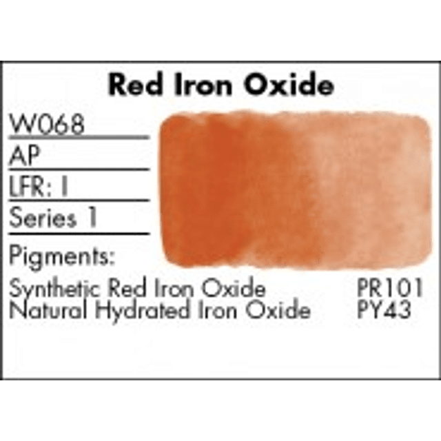 W068 - Red Iron Oxide