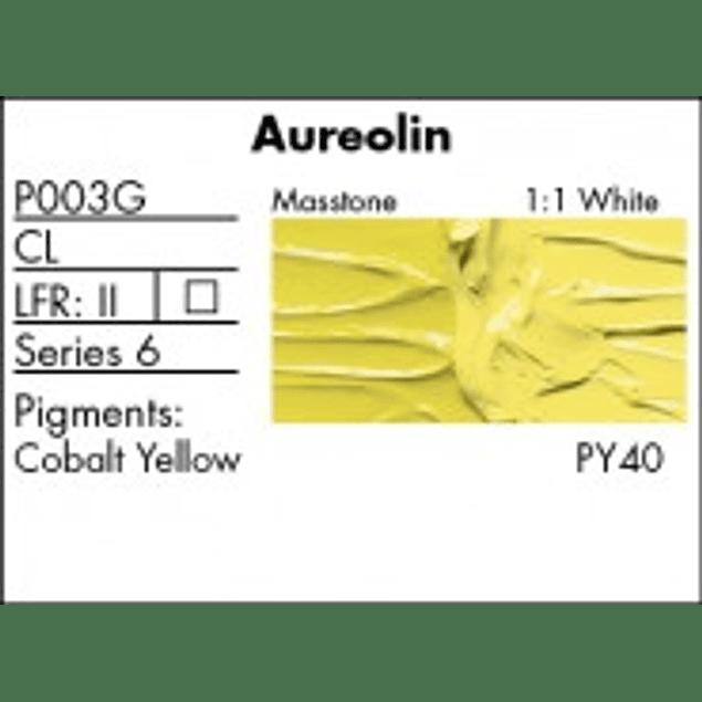 GRUMBACHER COLOR - PRETESTED OIL (37ML) AUREOLIN