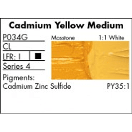 P034G - Cadmium Yellow Medium
