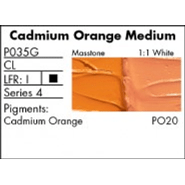 P035G -  Cadmium Orange Medium