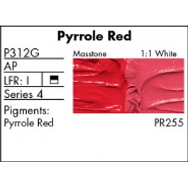 GRUMBACHER COLOR - PRETESTED OIL (37ML) PYRROLE RED