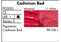GRUMBACHER COLOR - PRETESTED OIL (37ML) CADMIUM RED