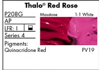 GRUMBACHER - PRETESTED OIL (37ML) THALO RED ROSE