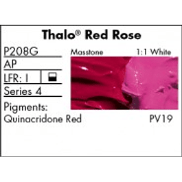 GRUMBACHER COLOR - PRETESTED OIL (37ML) THALO RED ROSE