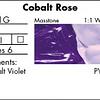 P051G - Cobalt Rose