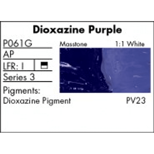 P061G - Dioxazine Purple