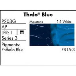 GRUMBACHER COLOR - PRETESTED OIL (37ML) THALO BLUE