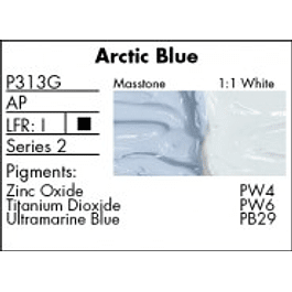 GRUMBACHER COLOR - PRETESTED OIL (37ML) ARCTIC BLUE