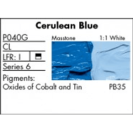 GRUMBACHER COLOR - PRETESTED OIL (37ML) CERULEAN BLUE (GENUINE)