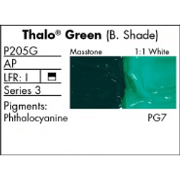 GRUMBACHER COLOR - PRETESTED OIL (37ML) THALO GREEN (BLUE SHADE)