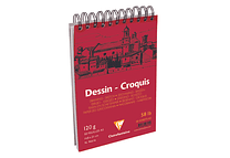 Clairefontaine Croquis A5 120 grs - 50 hojas