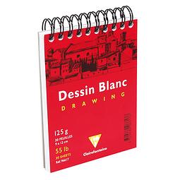 "Dessin Blanc ""Drawing"" A7 120 grs - 30 hojas"