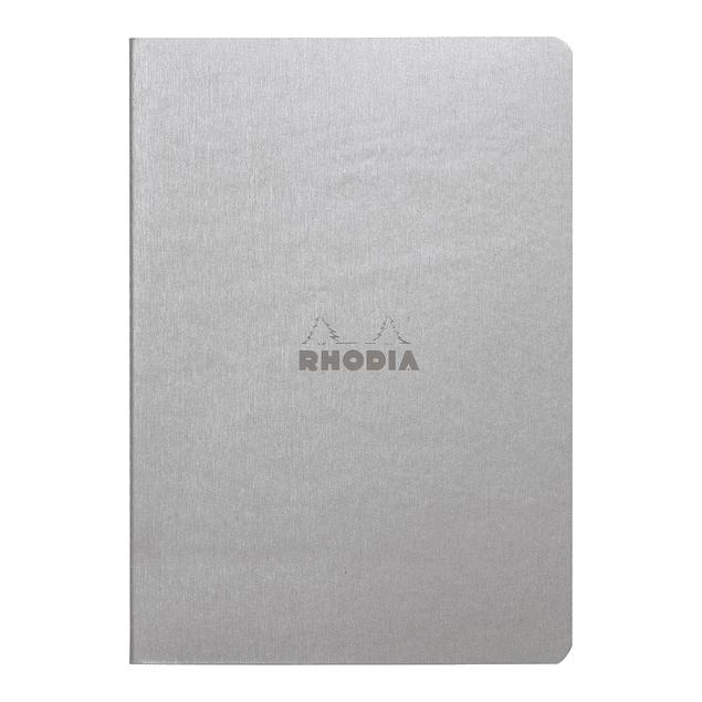 Rhodia Sewn Spine Rhodiarama A5 color Plata, Dot
