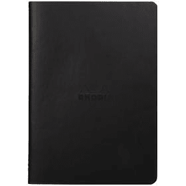 Rhodia Sewn Spine Rhodiarama A5 color Negro, Dot