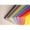 Rhodia Sewn Spine Rhodiarama A5 color Gris Pardo, Líneas