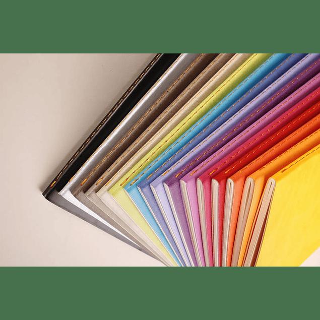 Rhodia Sewn Spine Rhodiarama A5 color Beige, Líneas