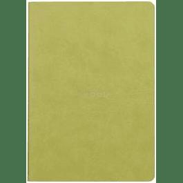 Rhodia Sewn Spine Rhodiarama A5 color Anís, Líneas