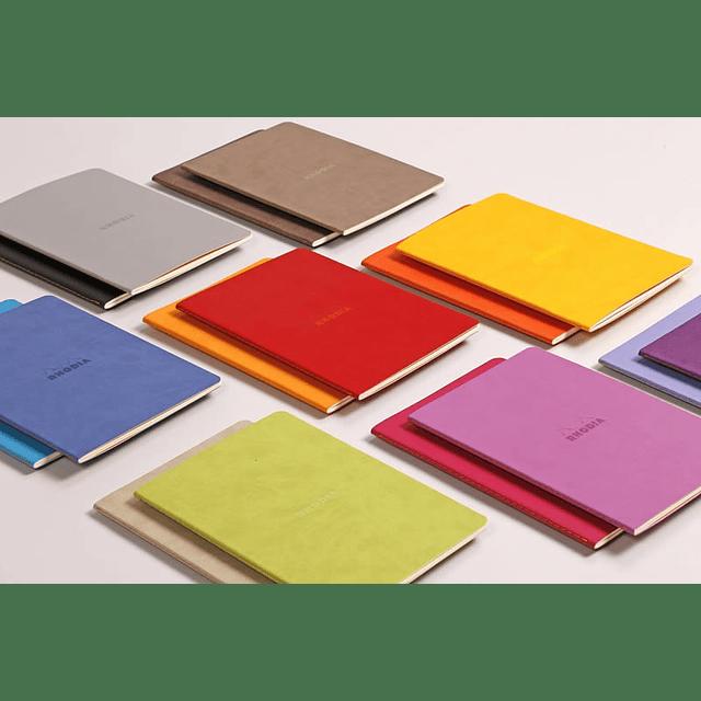 Cuaderno A5 con lomo cosido - Safiro