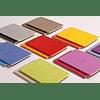 Cuaderno A5 con lomo cosido - Naranja