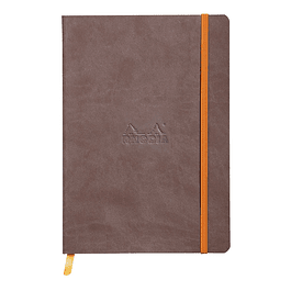 Rhodiarama Soft Cover A5, Chocolate
