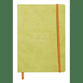 Rhodiarama Soft Cover A5, Anís, Líneas