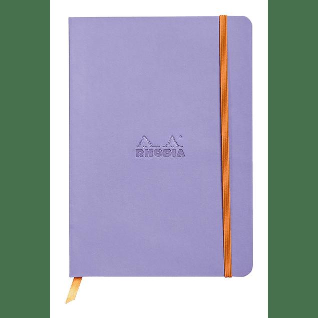 Rhodiarama Soft Cover A5, Iris, Líneas