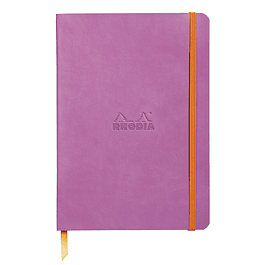 Rhodiarama Soft Cover A5, Lilac, Líneas