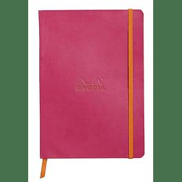 Rhodiarama Soft Cover A5, Raspberry, Líneas
