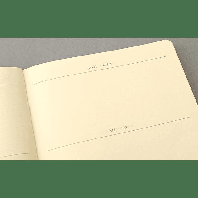Rhodiarama GoalBook SILVER A5 DOT 120 numb sh. 90g ivory paper