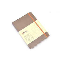 GoalBook Tapa Blanda - Color Pardo
